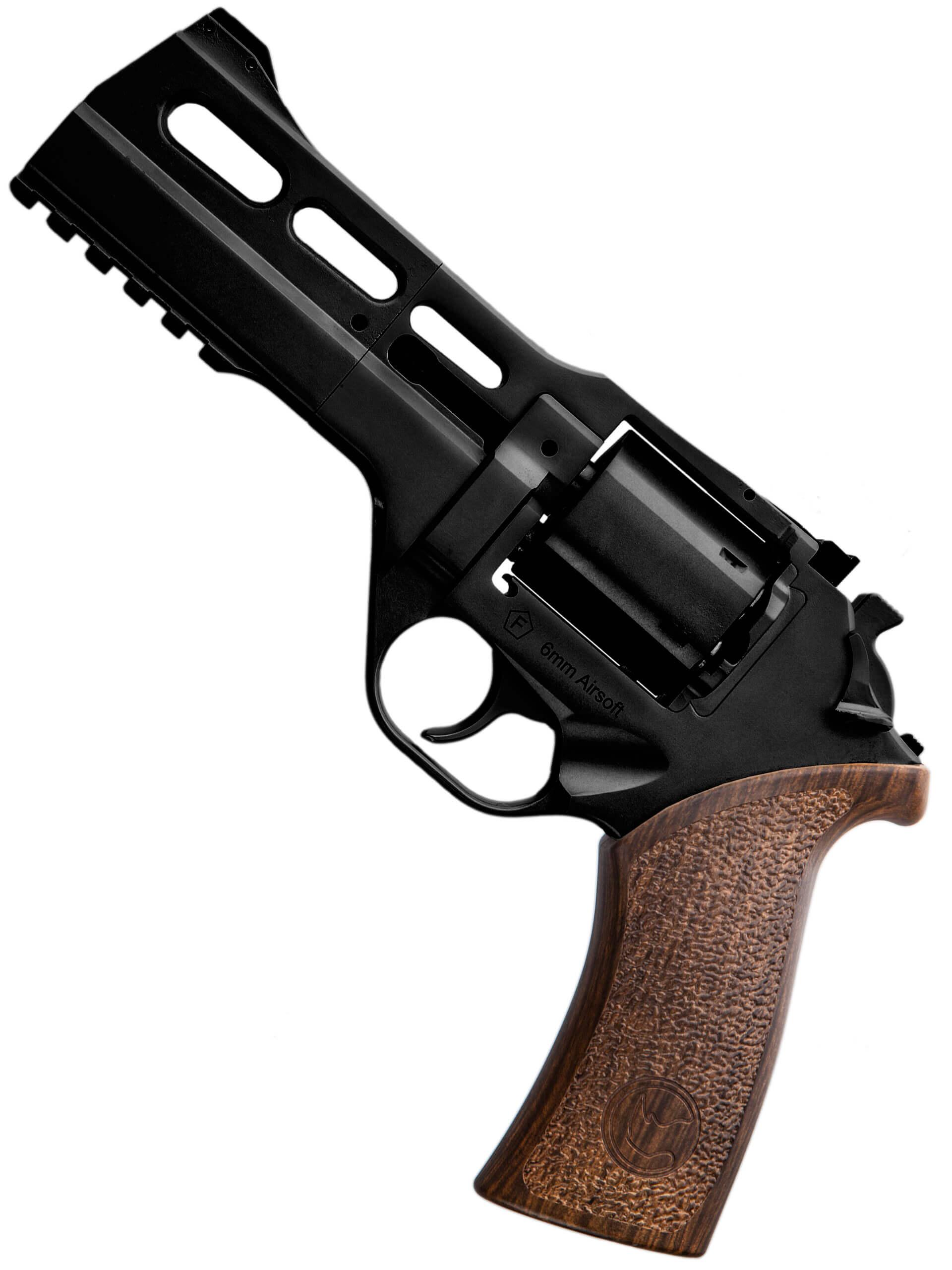 Chiappa Firearms Charging Rhino 50DS .357 Magnum CO2 Revolver, Black